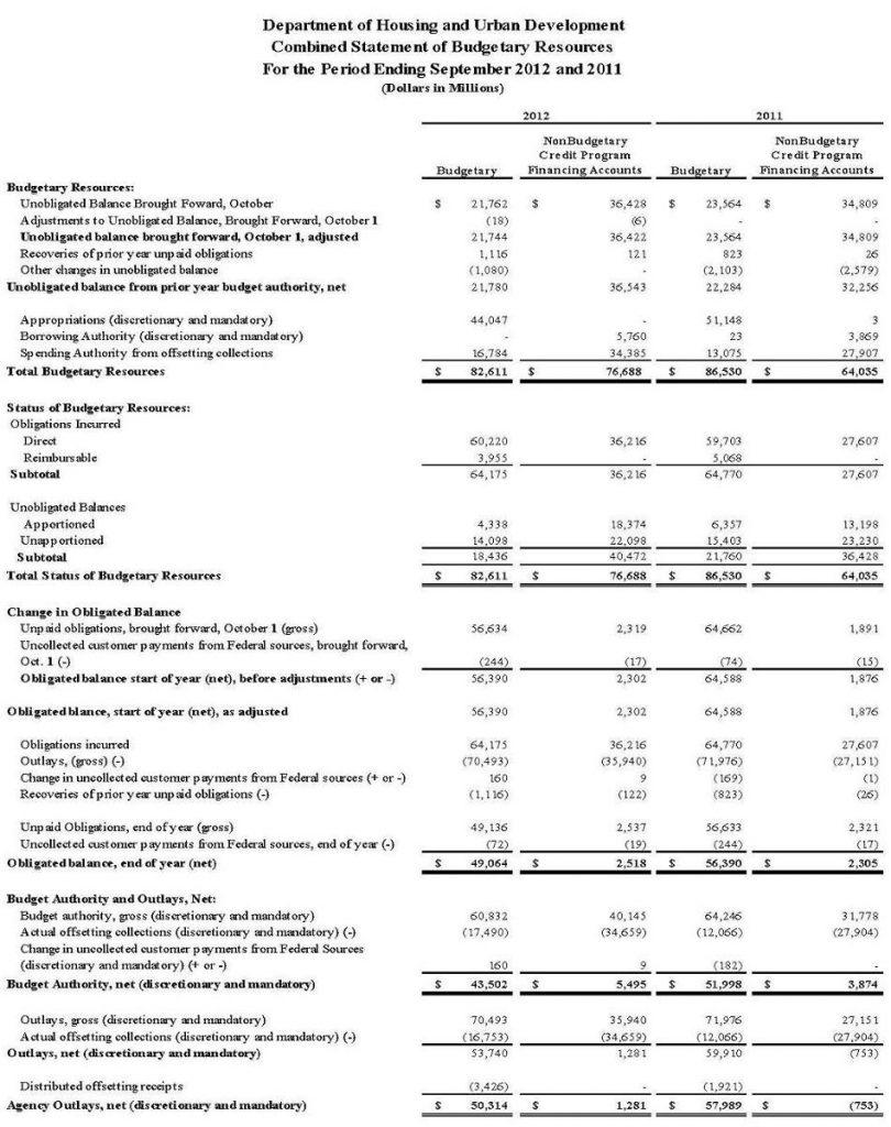 ERP Financial Statement